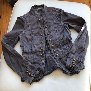 Esprit gray cotton blazer